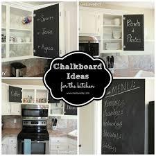 Creative Ideas For Using Chalkboard Paint In Your Kitchen! Paint Inside  CabinetsInside ...