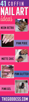 41 Nail Art Ideas for Coffin Nails - The Goddess