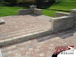 fine paver paver patio designs traditionalpatio on brick houzz