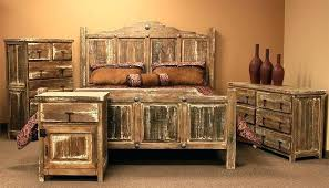 Distressed Bed Elegant White Bedroom Furniture Wax Pine ...