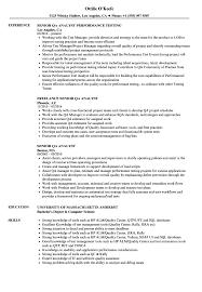 Senior Qa Analyst Resume Samples Velvet Jobs