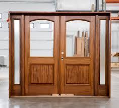 Exterior Double Door Sidelights