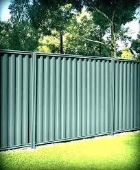 corrugated metal panels fence sheet metal fence panels home sheet metal fence sheet metal fence panels