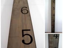 Wooden Ruler Growth Chart Kids Growth Chart Ruler