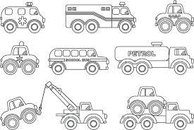 La Scelta Migliore Camion Da Stampare E Colorare Disegni Da Colorare