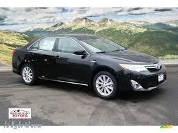 2012 Toyota Camry Hybrid XLE in Attitude Black Metallic - 003943 ...