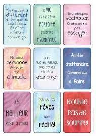 Stickers Motivation 01 Pensées Positives Belles Citations