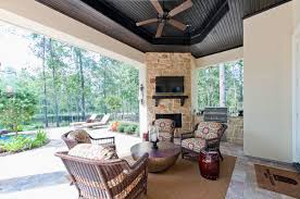 houston patio and garden. Amish-furniture-houston-Patio -Contemporary-with-area-rug-ceiling-fan-floral-cushions-garden-stool-outdoor Houston Patio And Garden