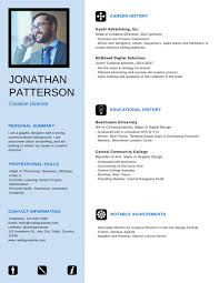 Neat Professional Resume Templates By Canva