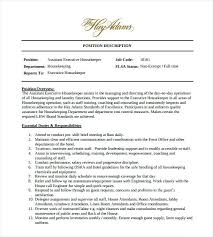 Resume For Housekeeping Job Best of Resume For Housekeeper Contoh Housekeeping Hotel Creerpro