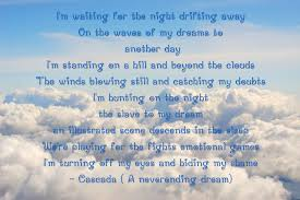 Catching Dreams Quotes Best of A Neverending Dream Cascada Quotes By Cynthevil On DeviantArt