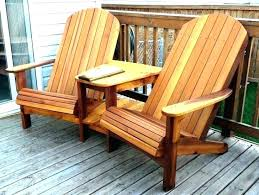 enchanting log deck furniture cabin outdoor chair plans folding chairs canvas wood double woodworking cedar fir