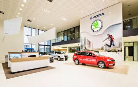 Dealership Showroom Design Skoda Reveals New Dealer Showroom Design Autoevolution