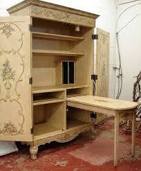 french armoire sewing cabinet armoire office desk
