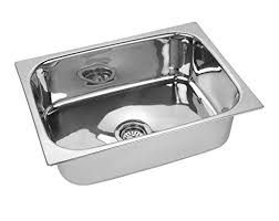 jindal kitchen sink snless steel sink size 16 x 18 x 8 inches 204