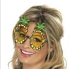 <b>Hawaiian Beach Pineapple</b> Sunglasses Party <b>Fruit</b> Glass Dancing ...