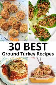 the 30 best ground turkey recipes