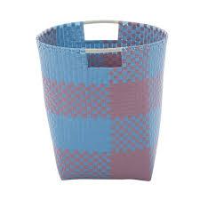 Wäschekorb Ines Blau Taupe