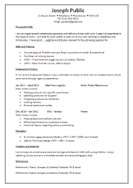 Gallery Of Cv Templates The Lighthouse Project Cvs Resume Example