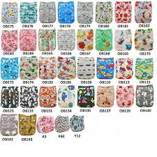 10pcs/Lot <b>Baby Nappies Adjustable Reusable Diaper</b> Cover One ...
