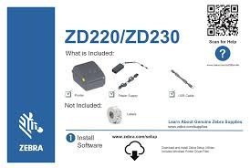Basic features and simple operations. Zd220 Printer Drivers Zebra Zd220 Label Printer B W Direct Thermal Zd22042 D01g00ez Thermal Printers Supplies Cdw Com Printer Firmware Sp 220nw Sp 221nw