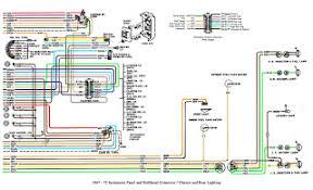 auto wiring diagram 1967 1972 chevrolet truck instrument 1967 1972 chevrolet truck instrument panel and bulkhead connector