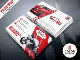 Free Business Card Templates Psd Auto Repair Business Card Template Psd By Psd Freebies Dribbble