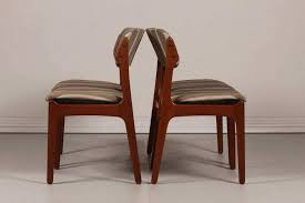 black distressed dining chairs luxury mid century od 49 teak dining chairs by erik buch for