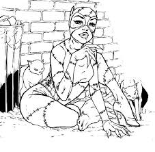 Small Picture Catwoman Coloring BooksColoringPrintable Coloring Pages Free