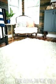 faux fur area rug sheepskin rugs