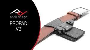 Peak Design Pro Pad V3 Kickstarter Unboxing Overview Peak Design Pro Pad V2