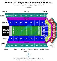 Razorback Seating Chart Abiding Arkansas Razorback Baseball Stadium Seating Chart