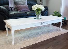 Antique White Coffee Tables Shabby Chic White Coffee Table Coffetable