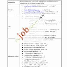 Resume Examples With No Work Experience Awesome How To Make High