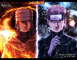 Sasuke (Moon Of Six Paths) and Naruto ...