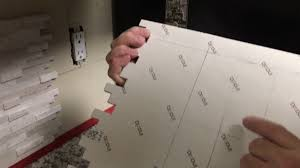 How To Install Kitchen Counter Top Back Splash Self Adhesive