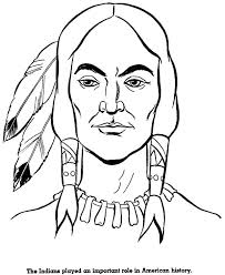 Native American Coloring Pages Face A Pdf Best Auchmar