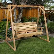 shown in 4ft swing size pergola holz