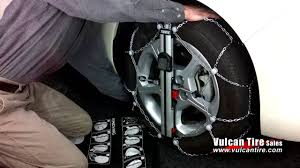 Thule Easy Fit Cu 9 Tire Snow Chain How To Install