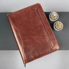 luxury a4 leather ring binder folder the veroli