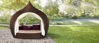 modern rattan furniture. domus eyecatcher outdoor daybed modern rattan furniture