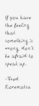 Fred Korematsu Quotes Gorgeous Fred Korematsu Quotes