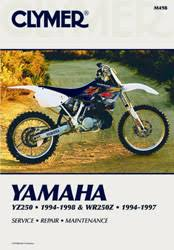 yz250 1994 1998 wr250z 1994 1997 motorcycle service repair clymer manuals yamaha yz250 1994 1998 and wr250z 1994 1997 m498