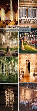 wedding lighting diy. Creative And Diy Waterfall String Lights Wedding Decoration Ideas Lighting I