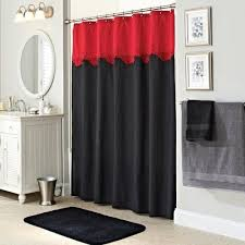 black and red shower curtain. 17 best ideas about red shower curtains on pinterest grey and curtain black