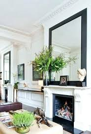 fireplace mantels with mirrors above s fireplace mantel mirror ideas