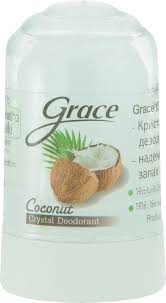 Grace <b>Дезодорант кристаллический</b> Кокосовый, 40 мл — купить в ...