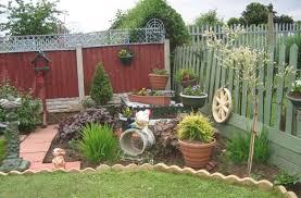 most beautiful rustic outdoor garden