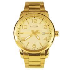 citizen gold tone mens watch bi1022 51p bi1022
