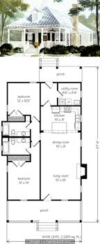 Small Two Bedroom House 17 Best Ideas About Small House Plans On Pinterest Small Home